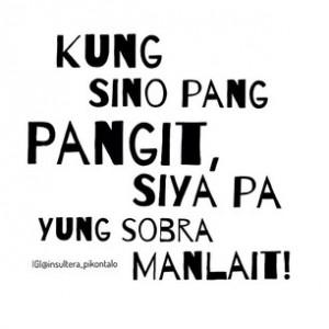 Tagalog Quotes Patama Sa Ex #pikon #talo #quotes