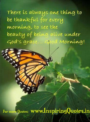 GOD Motivational and Inspirational Quotes : Good Morning Quotes