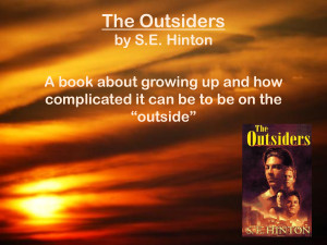 The Outsiders by S E Hinton (PowerPoint)