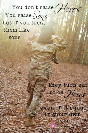 Father Son Military Quote