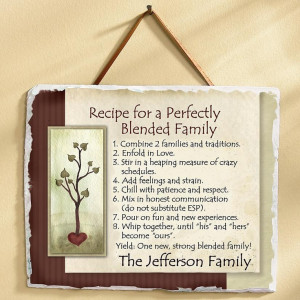 RecipeforaPerfectlyBlendedFamily