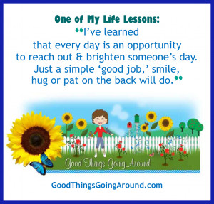 life lesson quote 12-8-2011