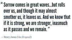 Sorrow, Henry James More