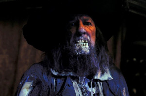 First up, Captain Barbossa!