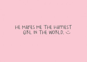 he makes me happy quotes he used to make me smile more