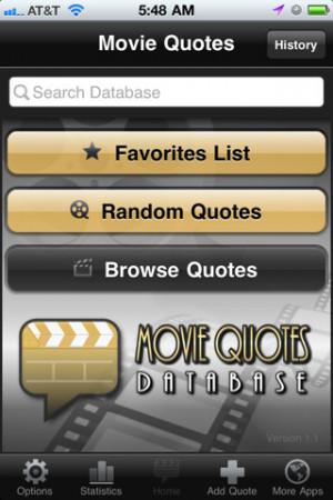 Movie Quotes Database 1.1