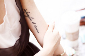Expressions on body: 20 inspiring latin quote tattoos