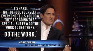 mark cuban quote shark tank hard work