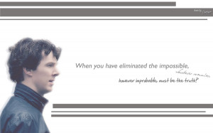 Sherlock Holmes Quotes... by IDEAZonetimer