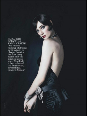 ... Inclined! | 'The Great Gatsby' Cast for Vogue Australia