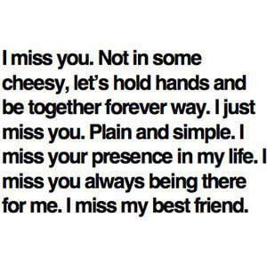 Missing Your Ex Best Friend Quotes Tumblr