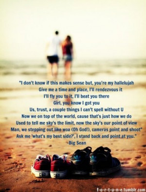 ... bigsean #lyrics #love #chivalry #Couples #romantic #pictures #tumblr