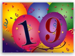 Congratulations on WWPC's 19 th anniversary.