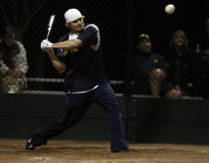 Funny Slow Pitch Softball Quotes Men's slow-pitch softball