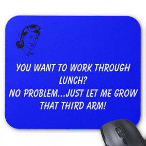 Funny Court Reporter Mouse Pad