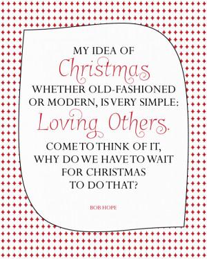 Sunday Encouragement: Loving Others {12.14.14}