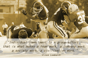 Vince Lombardi Leadership Quotes