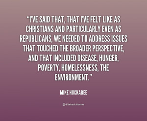 Mike Huckabee Quotes