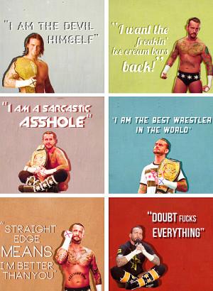 Favorite CM Punk quotes