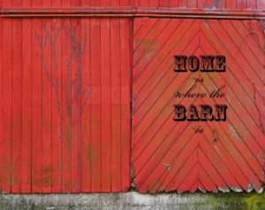 Barn Photo - Rustic Fine Ar t Wall Decor - Weathered Barn - Country ...