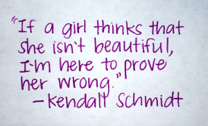 Kendall Schmidt quote Reason why I love him by writingpoetryforlife