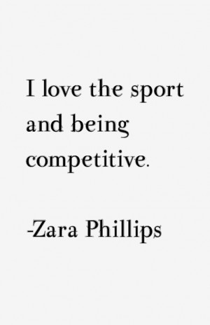 Return To All Zara Phillips Quotes