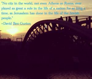 Quotes - David Ben-Gurion #Jews #Yerushalayim