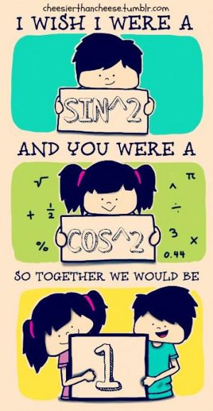Romantic Math Nerd... :)