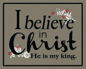 believe in Christ. Easter printable. Free LDS Printables.