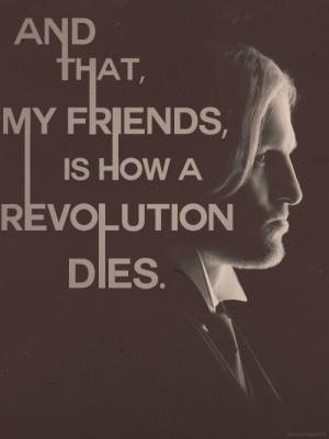 Favorite Mockingjay Quotes → Haymitch