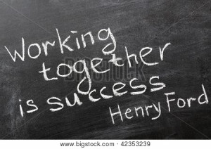or Photo of Final phrase of famous Henry Ford quote