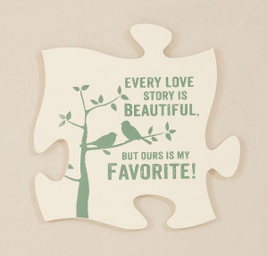 puzzle pieces every love story puzzle piece your family and