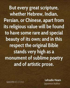 Lafcadio Hearn Poetry Quotes