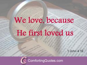 Short Religious Love Quotes