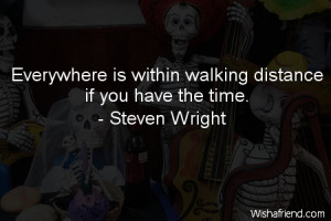 Funny Quotes About Walking