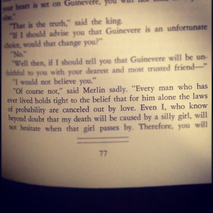 Book Love Quotes Tumblr 13 notes. #merlin #quotes