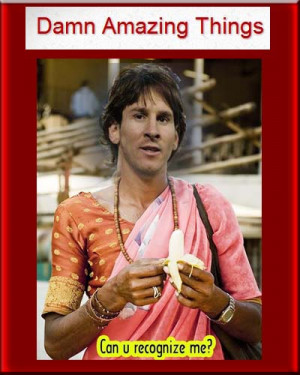 Very Creative and Funny Messi Images