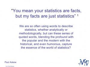 Statistics Quotes