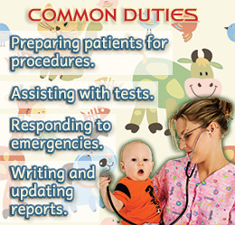 ... on the job description and responsibilities of a pediatric nurse