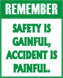 Stickers Safety Slogans, Safety Stickers Safety, Products Details ...