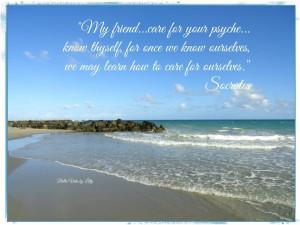 Self Care Quotes Self care socrates quote
