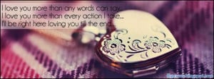 Love, You, Quote, Heart, Fb, Cover, Timeline