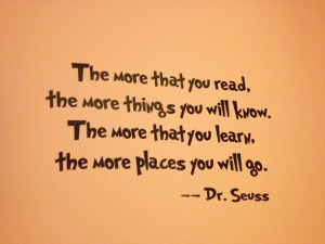 Dr. Seuss Wall Decal Quotes