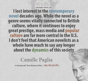 Camille Paglia on the American Novel