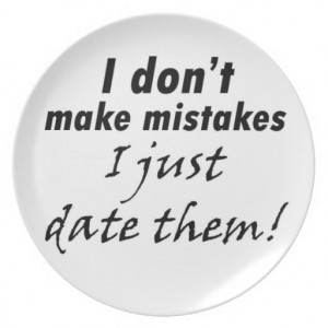 Funny quotes decorative dinner plates joke gifts