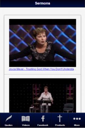 Joyce Meyer Devotionals Fan - screenshot