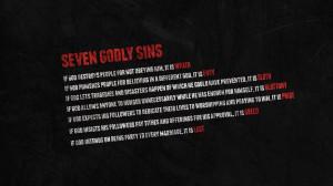 Seven sins Wallpaper