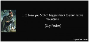 More Guy Fawkes Quotes