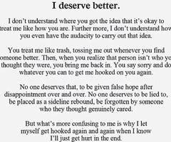 deserve better quotes