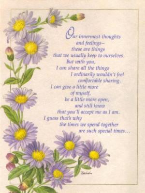 True Friendship Poems True friend. poem for friend